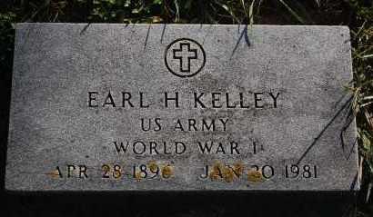 KELLEY, EARL H. - Minnehaha County, South Dakota | EARL H. KELLEY - South Dakota Gravestone Photos