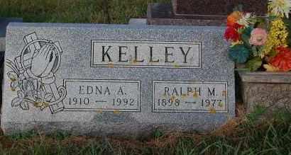 KELLEY, EDNA A. - Minnehaha County, South Dakota | EDNA A. KELLEY - South Dakota Gravestone Photos