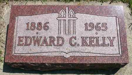 KELLY, EDWARD C. - Minnehaha County, South Dakota | EDWARD C. KELLY - South Dakota Gravestone Photos