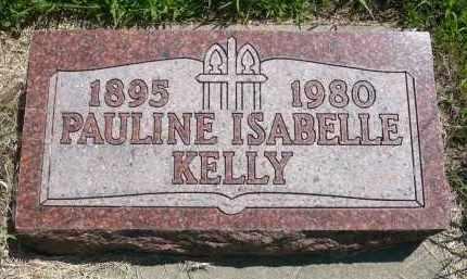 KELLY, PAULIN ISABELLE - Minnehaha County, South Dakota   PAULIN ISABELLE KELLY - South Dakota Gravestone Photos