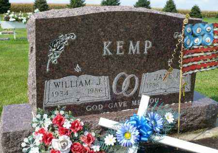KEMP, WILLIAM J. - Minnehaha County, South Dakota | WILLIAM J. KEMP - South Dakota Gravestone Photos