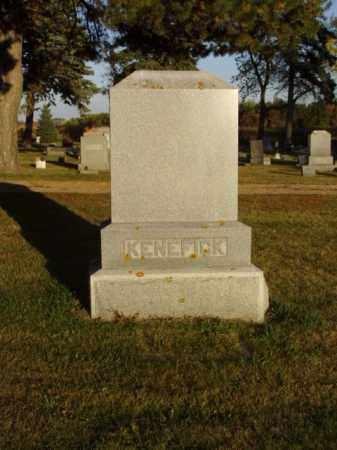 KENEFICK, FAMILY MARKER - Minnehaha County, South Dakota   FAMILY MARKER KENEFICK - South Dakota Gravestone Photos