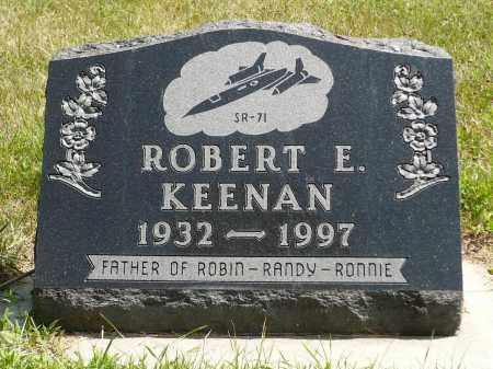 KEENAN, ROBERT E. - Minnehaha County, South Dakota | ROBERT E. KEENAN - South Dakota Gravestone Photos