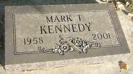 KENNEDY, MARK T. - Minnehaha County, South Dakota   MARK T. KENNEDY - South Dakota Gravestone Photos