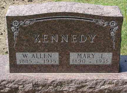 KENNEDY, MARY L. - Minnehaha County, South Dakota | MARY L. KENNEDY - South Dakota Gravestone Photos
