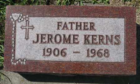 KERNS, JEROME - Minnehaha County, South Dakota | JEROME KERNS - South Dakota Gravestone Photos