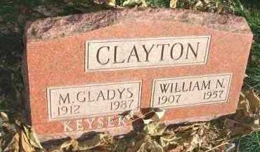 CLAYTON, WILLIAM N. - Minnehaha County, South Dakota   WILLIAM N. CLAYTON - South Dakota Gravestone Photos