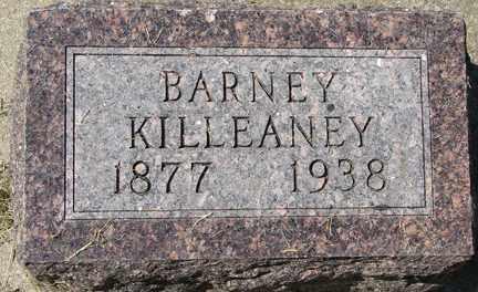 KILLEANEY, BARNEY - Minnehaha County, South Dakota   BARNEY KILLEANEY - South Dakota Gravestone Photos