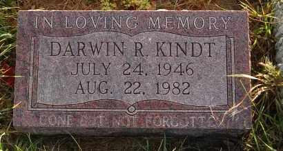 KINDT, DARWIN R. - Minnehaha County, South Dakota | DARWIN R. KINDT - South Dakota Gravestone Photos