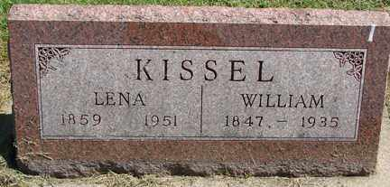 KISSEL, WILLIAM - Minnehaha County, South Dakota | WILLIAM KISSEL - South Dakota Gravestone Photos