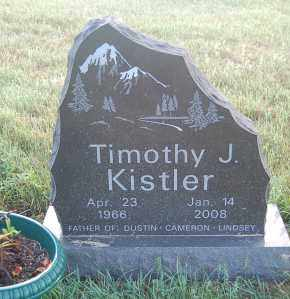 KISTLER, TIMOTHY J. - Minnehaha County, South Dakota   TIMOTHY J. KISTLER - South Dakota Gravestone Photos