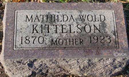 KITTELSON, MATHILDA - Minnehaha County, South Dakota | MATHILDA KITTELSON - South Dakota Gravestone Photos