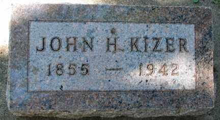 KIZER, JOHN H. - Minnehaha County, South Dakota | JOHN H. KIZER - South Dakota Gravestone Photos