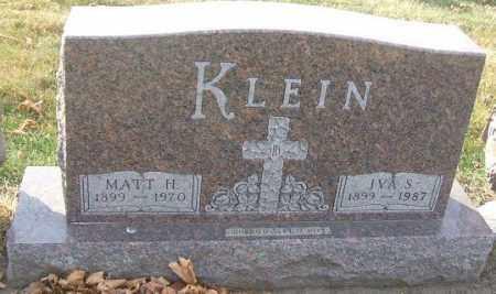 KLEIN, MATT H. - Minnehaha County, South Dakota | MATT H. KLEIN - South Dakota Gravestone Photos