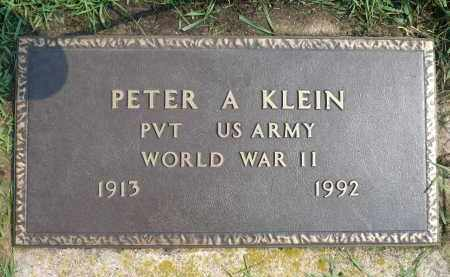 KLEIN, PETER A. (WWII) - Minnehaha County, South Dakota | PETER A. (WWII) KLEIN - South Dakota Gravestone Photos
