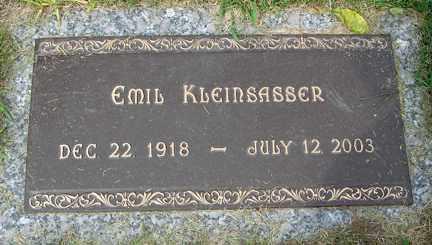 KLEINSASSER, EMIL - Minnehaha County, South Dakota | EMIL KLEINSASSER - South Dakota Gravestone Photos