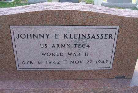 KLEINSASSER, JOHNNY E. (WWII) - Minnehaha County, South Dakota | JOHNNY E. (WWII) KLEINSASSER - South Dakota Gravestone Photos