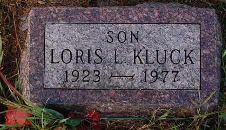 KLUCK, LORIS L. - Minnehaha County, South Dakota | LORIS L. KLUCK - South Dakota Gravestone Photos