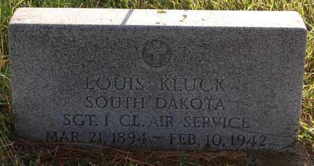KLUCK, LOUIS - Minnehaha County, South Dakota | LOUIS KLUCK - South Dakota Gravestone Photos