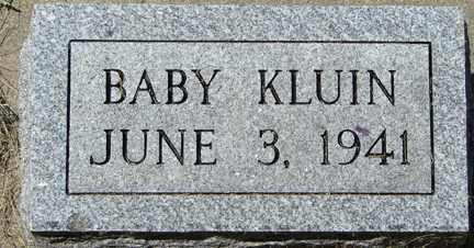KLUIN, BABY - Minnehaha County, South Dakota | BABY KLUIN - South Dakota Gravestone Photos