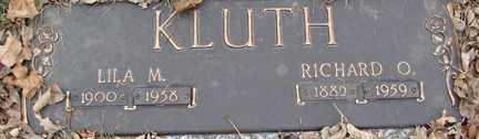 KLUTH, LILA M. - Minnehaha County, South Dakota | LILA M. KLUTH - South Dakota Gravestone Photos
