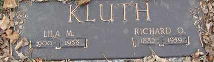 KLUTH, LILA M. - Minnehaha County, South Dakota | LILA M. KLUTH - South Dakota Gravestone Photos