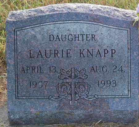 KNAPP, LAURIE - Minnehaha County, South Dakota | LAURIE KNAPP - South Dakota Gravestone Photos