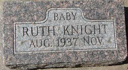 KNIGHT, RUTH - Minnehaha County, South Dakota | RUTH KNIGHT - South Dakota Gravestone Photos