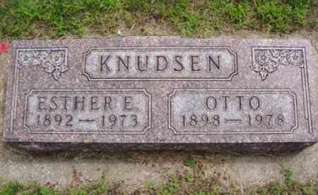 KNUDSEN, OTTO - Minnehaha County, South Dakota | OTTO KNUDSEN - South Dakota Gravestone Photos
