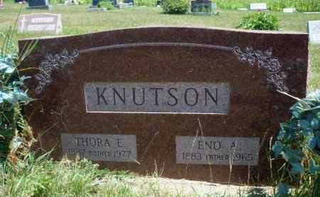 KNUTSON, ENO A. - Minnehaha County, South Dakota | ENO A. KNUTSON - South Dakota Gravestone Photos