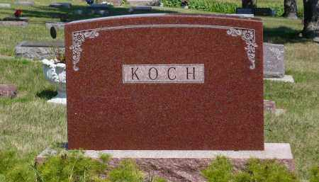 KOCH, RICHARD O. - Minnehaha County, South Dakota | RICHARD O. KOCH - South Dakota Gravestone Photos