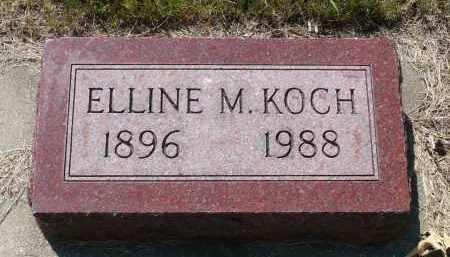 KOCH, ELLINE M. - Minnehaha County, South Dakota | ELLINE M. KOCH - South Dakota Gravestone Photos