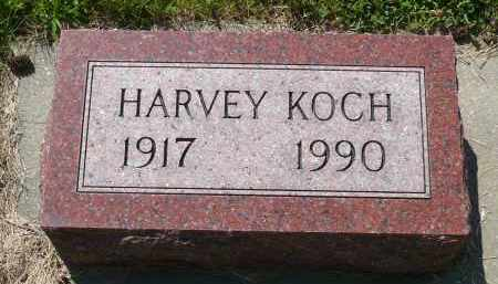 KOCH, HARVEY - Minnehaha County, South Dakota | HARVEY KOCH - South Dakota Gravestone Photos