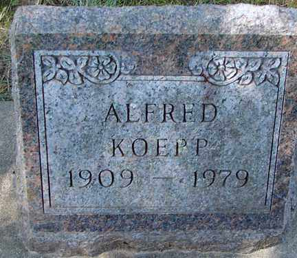 KOEPP, ALFRED - Minnehaha County, South Dakota | ALFRED KOEPP - South Dakota Gravestone Photos