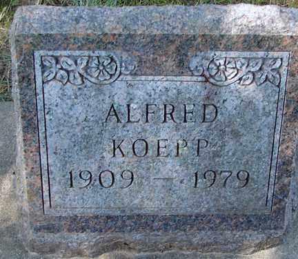 KOEPP, ALFRED - Minnehaha County, South Dakota | ALFRED KOEPP - South Dakota Gravestone Photos
