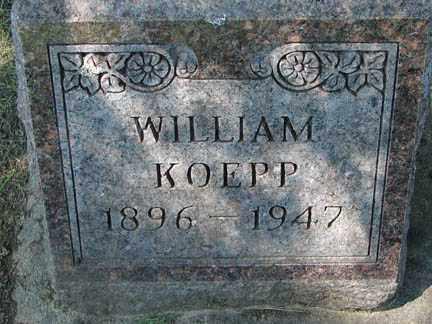 KOEPP, WILLIAM - Minnehaha County, South Dakota | WILLIAM KOEPP - South Dakota Gravestone Photos