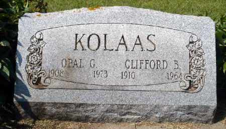 KOLAAS, CLIFFORD B. - Minnehaha County, South Dakota | CLIFFORD B. KOLAAS - South Dakota Gravestone Photos