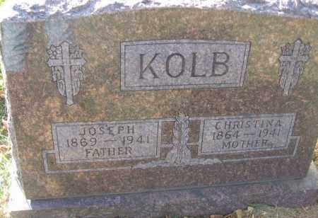 KOLB, JOSEPH - Minnehaha County, South Dakota | JOSEPH KOLB - South Dakota Gravestone Photos