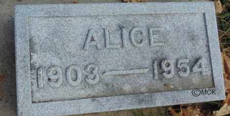 KONEMAN, ALICE - Minnehaha County, South Dakota   ALICE KONEMAN - South Dakota Gravestone Photos