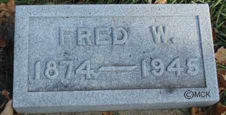 KONEMAN, FRED W. - Minnehaha County, South Dakota | FRED W. KONEMAN - South Dakota Gravestone Photos