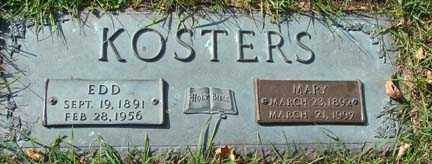 ACKERMAN KOSTERS, MARY - Minnehaha County, South Dakota | MARY ACKERMAN KOSTERS - South Dakota Gravestone Photos