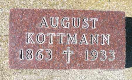 KOTTMANN, AUGUST - Minnehaha County, South Dakota   AUGUST KOTTMANN - South Dakota Gravestone Photos