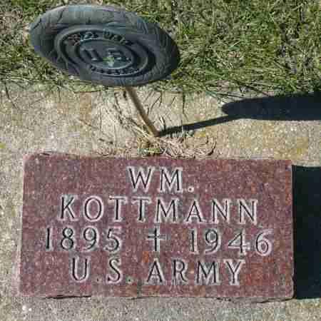 KOTTMANN, WILLIAM - Minnehaha County, South Dakota | WILLIAM KOTTMANN - South Dakota Gravestone Photos