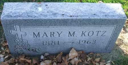 KOTZ, MARY M. - Minnehaha County, South Dakota | MARY M. KOTZ - South Dakota Gravestone Photos
