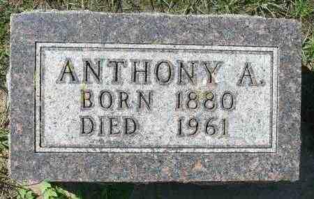 KRIER, ANTHONY ANDREW - Minnehaha County, South Dakota | ANTHONY ANDREW KRIER - South Dakota Gravestone Photos