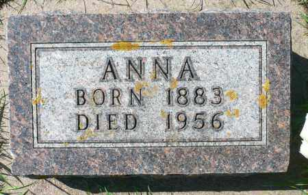 KRIER, ANNA - Minnehaha County, South Dakota   ANNA KRIER - South Dakota Gravestone Photos