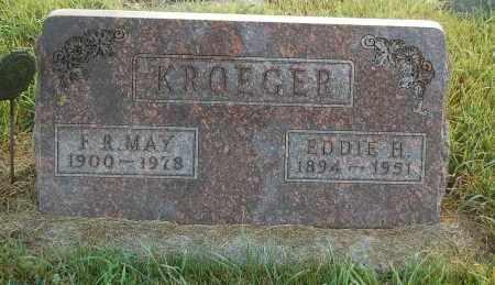 KROEGER, EDDIE H. - Minnehaha County, South Dakota | EDDIE H. KROEGER - South Dakota Gravestone Photos