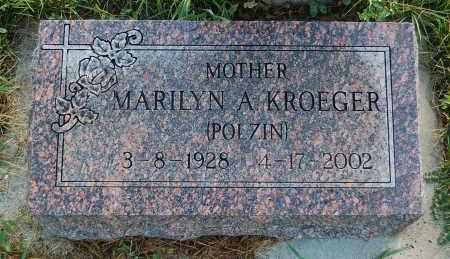 KROEGER POLZIN, MARILYN A. - Minnehaha County, South Dakota | MARILYN A. KROEGER POLZIN - South Dakota Gravestone Photos