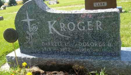 KROGER, DARRELL L. - Minnehaha County, South Dakota   DARRELL L. KROGER - South Dakota Gravestone Photos
