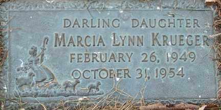 KRUEGER, MARCIA LYNN - Minnehaha County, South Dakota   MARCIA LYNN KRUEGER - South Dakota Gravestone Photos